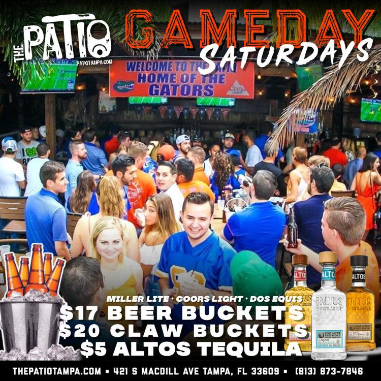 The Patio - Gameday Saturdays